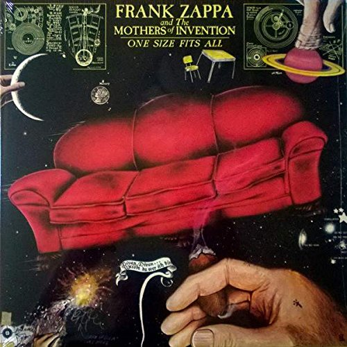 Frank Zappa And The Mothers - One Size Fits All - Zappa Records - ZR 3853-1, Universal Music - ZR 3853-1