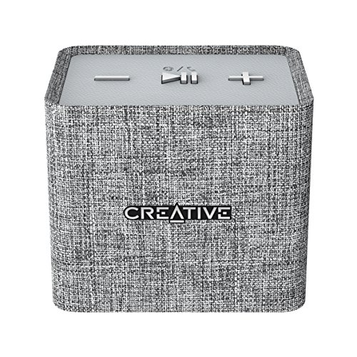 Creative NUNO MICRO Bluetooth Wireless Speaker - Grey(51MF8265AA001)