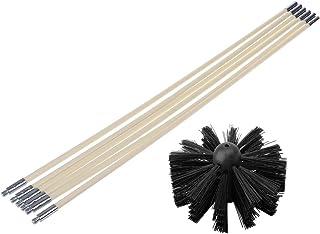 ZOOMY Cepillo de Nylon con Varillas de Tubo Flexible de mani