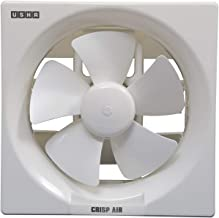 Usha Crisp Air 250mm Sweep Size, 345mm Duct Size Exhaust Fan (Pearl White)