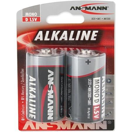 Ansmann Red 1514 0000 Lr20 Mono D Alkaline Batterie 2er Elektronik