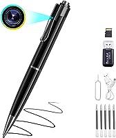 Chilison 笔型相机 1080P 隐藏摄像头 超小型摄像头 32GB microSD卡 笔袋 长时间录像 照片拍摄 录音 可重复保存 带相机笔 防盗用 会议 商谈 证据拍摄 笔型摄像机