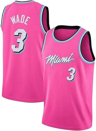 Dwyane Wade # 3 Camiseta De Baloncesto De Los Hombres - NBA ...