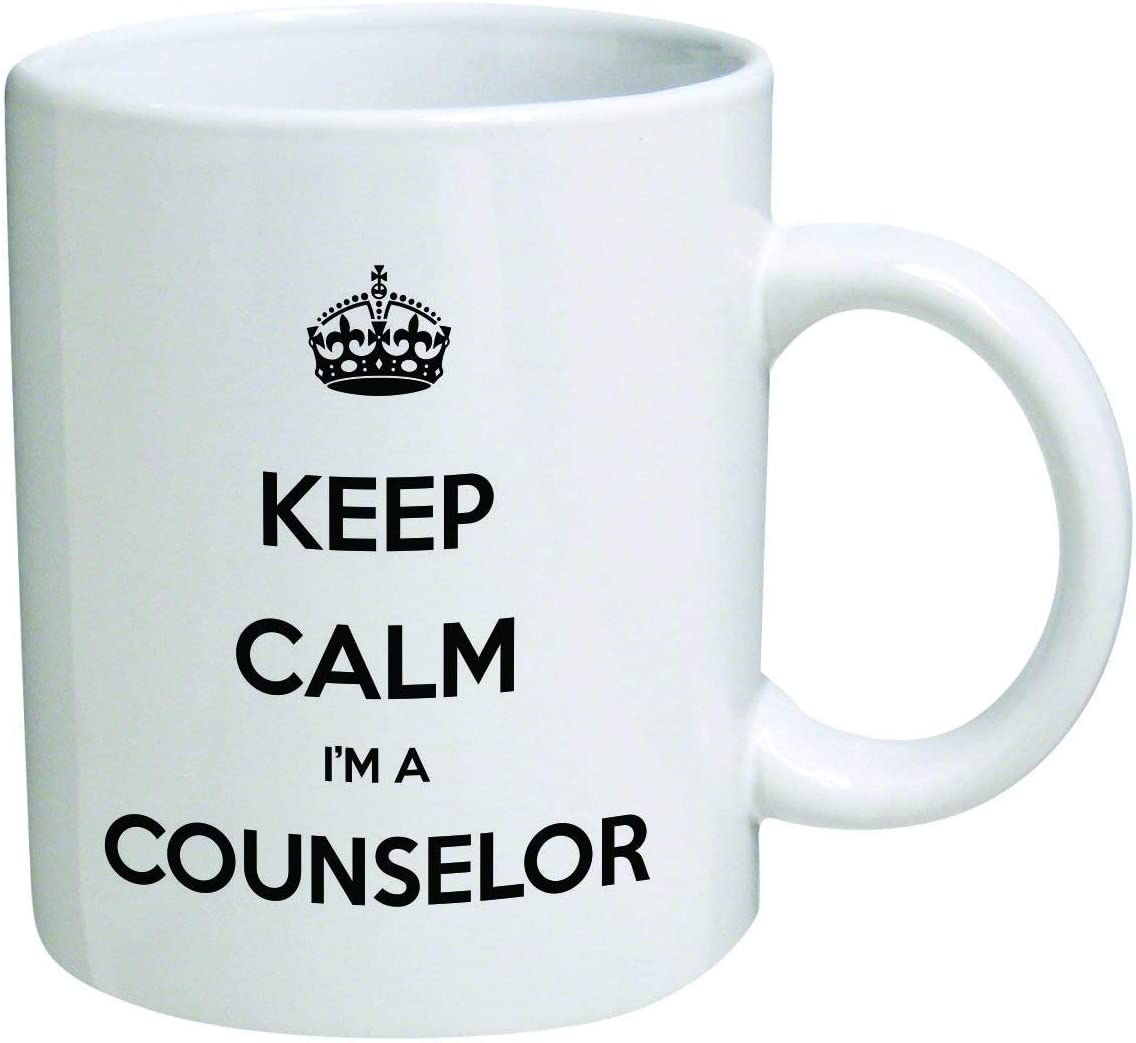 Funny Mug - Keep Calm I'm a Insp Spring new work one after another Coffee 11 Counselor Ranking TOP2 OZ Mugs