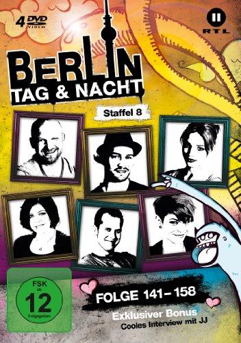 Berlin - Tag & Nacht, Vol.  8: Folgen 141-160 (4 DVDs)