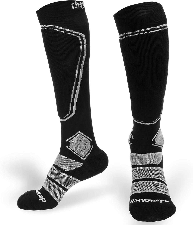 devembr Merino Wool Ski Socks for Kids Boys Girls High Performance Snowboard socks