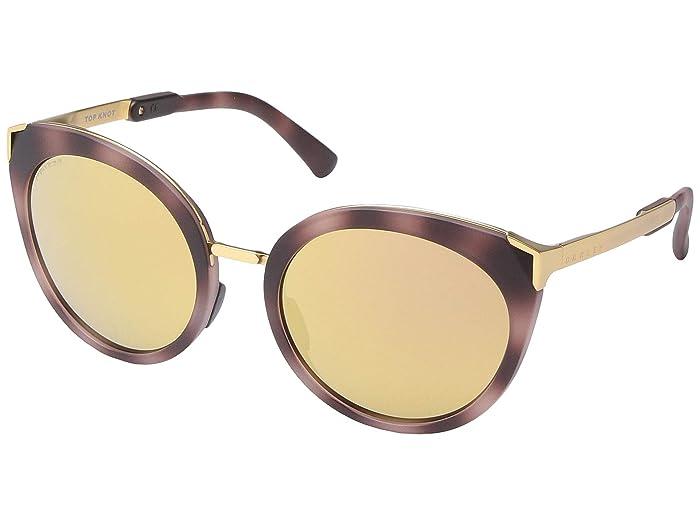 Oakley 56 mm Top Knot (Matte Rose Tortoise) Fashion Sunglasses
