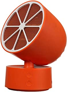 GXDHOME Calefactores Mini Calentador rápido, Ventilador eléctrico, pequeño Calentador para calefacción doméstica de Oficina (220V, 350W)