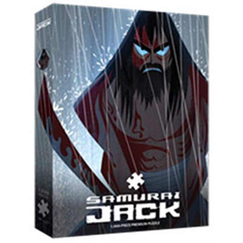 Samurai Jack Fury 1000 Piece Puzzle Only at GameStop