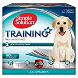 Simple Solution Training Puppy Pads | 6 Layer Dog...