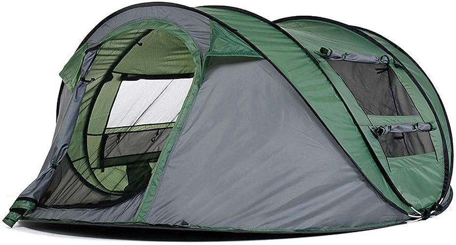 GFF Randonnée pédestre, Camping, Plage, Pique-Nique, Tente de pêche Preuve du Vent à l'épreuve de l'eau Preuve Facile à configurer, pour 3-4 Adultes