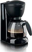 Braun KF560 Cafe House Pure Aroma Coffee Maker, 1100 Watt - Black