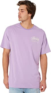 Stussy Men's Stock International Mens Tee Purple