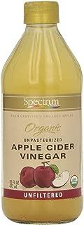 Spectrum, Apple Cider Vinegar, Organic, Unfiltered, 16 Fluid ounce