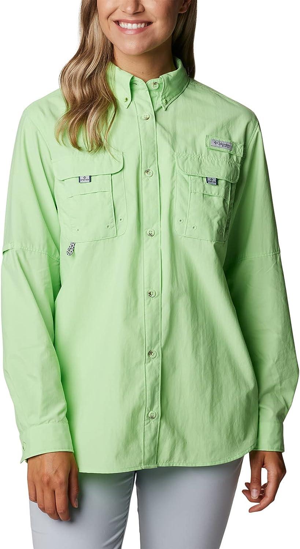 Columbia Women's セール特価 Bahama Sleeve Shirt 激安価格と即納で通信販売 Long