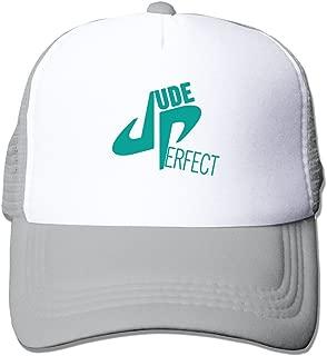 YouTube DP Dude Perfect Symbol Unisex Adjustable Sports Snapback Mesh Hat Ash