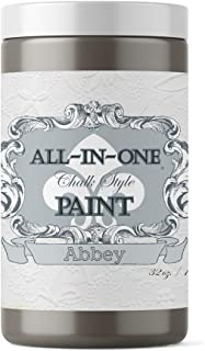 Abbey, Heritage Collection All in One Chalk Style Paint (NO Wax!) 16oz Pint