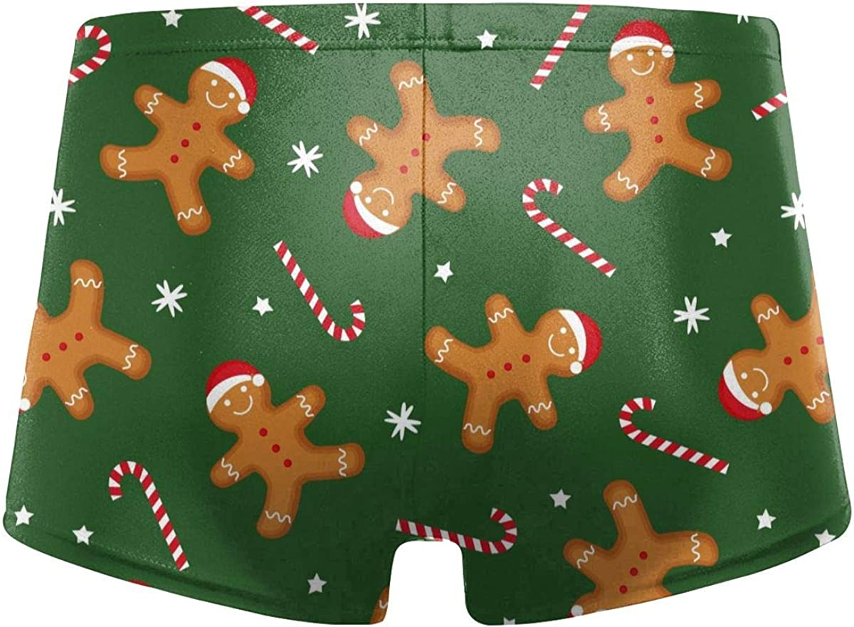 Gingerbread Man Men's Swimming Trunks Fitness Swimwear Boxer Pants Board Shorts