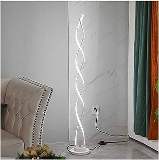 Lampadaire, Source de lumière LED Source Simple Salon Moderne Chambre à coucher Creative Ligne Creative Spirale Art Vertic...