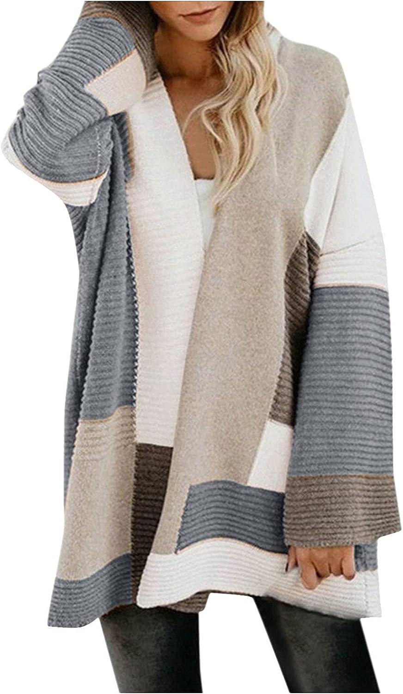 Autumn Coats for Women Casual Fashion Long Sleeve Tops Loose Coat Cardigan