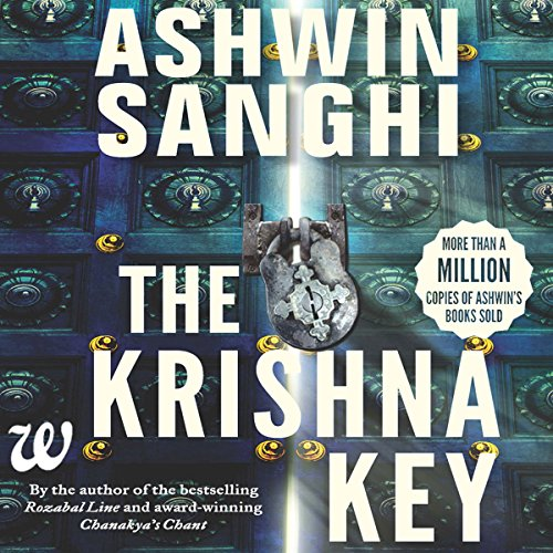 The Krishna Key audiobook cover art