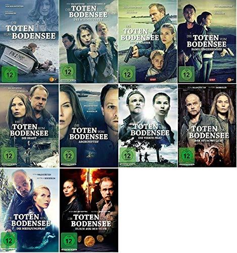 Die Toten vom Bodensee 1-10 / 10er Film Paket u.a. Fluch aus der Tiefe [DVD Set]