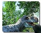 Yanteng Alfombrilla de ratón Antideslizante, Alfombrilla de ratón de Dinosaurio Tyrannosaurus Rex Office