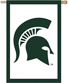 Michigan State Double Sided Applique Flag