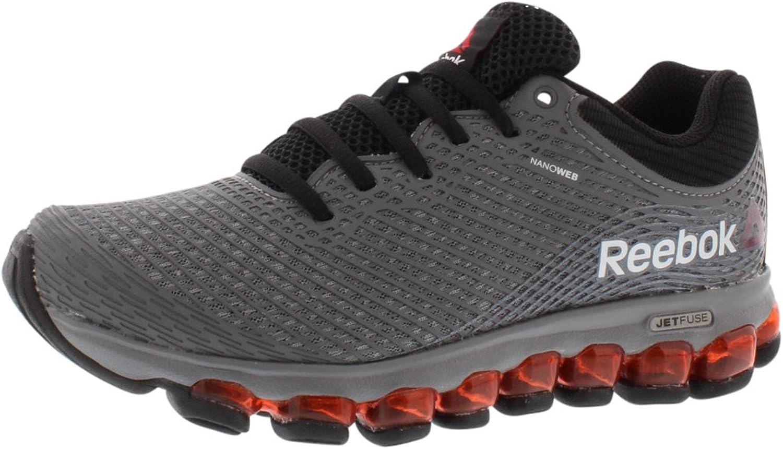 Reebok Z Jet Boy's Running shoes Size US 6.5, Regular Width, color Grey Black