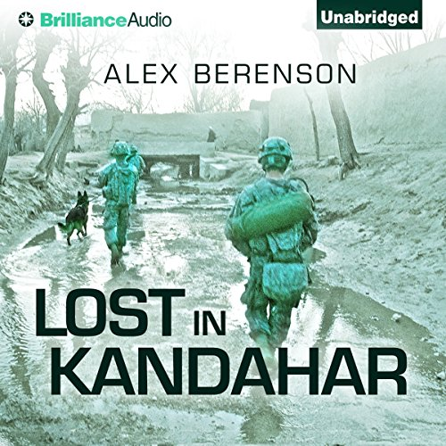 Lost in Kandahar audiobook cover art