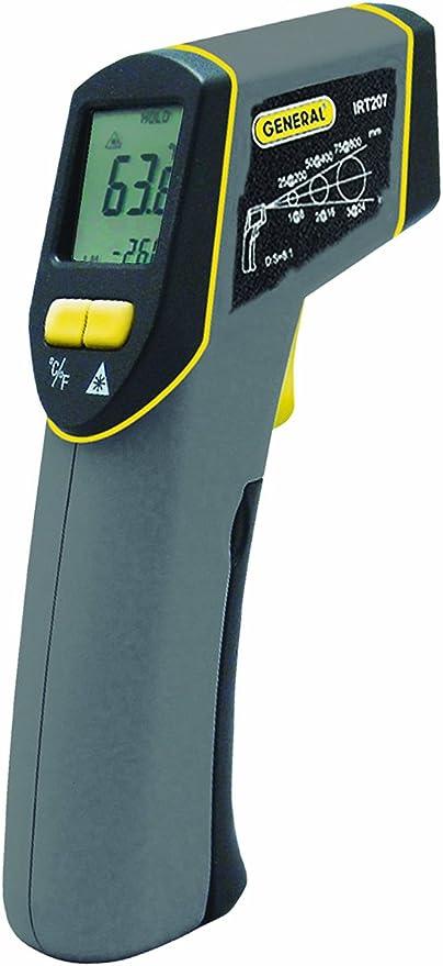 General Tools IRT207 Laser Temperature Gun - Superior Accuracy