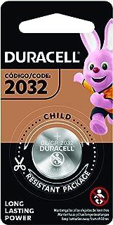 Duracell Pila Especializada de Litio Modelo 2032 Tipo Moneda de 3V Contiene 1 Paquete con 1 Pila, Plateado