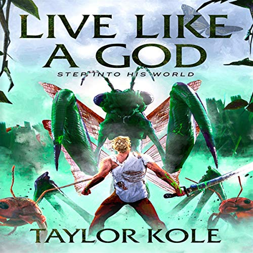 Live Like a God audiobook cover art
