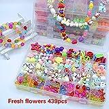 24 Gitter DIY Kinder Perlen Spielzeug Amblyopie Korrektur bunte Perlen Spielzeug Mädchen Geschenk...