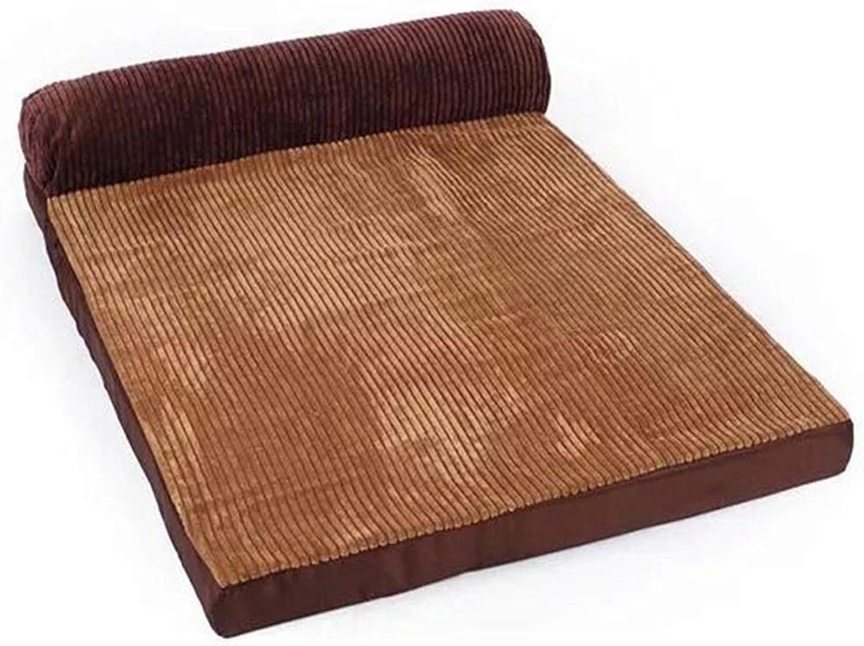 Desti Flakes Dog Bed Labrador Dog Sleeping Mat Large and Medium Pet Nest golden Retriever Dog Cushion SingleSided Removable and Washable (Size   XS)