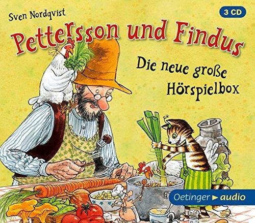 Pettersson und Findus. Die neue große Hörspielbox: Hörspielbox, ca. 85 min.