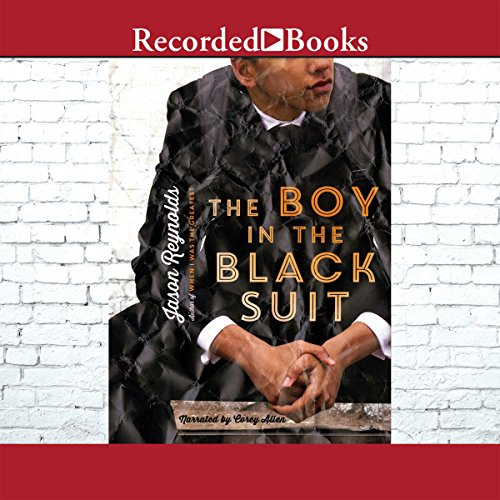 The Boy in the Black Suit audiobook cover art