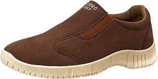 Salerno Side Elastic Band Suede Slip-on Shoes for Men