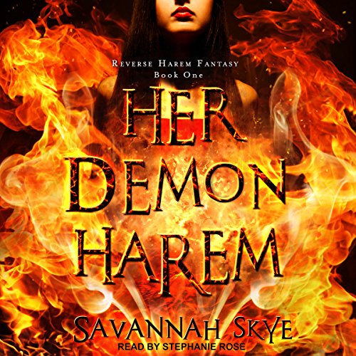 Her Demon Harem Book One audiobook cover art