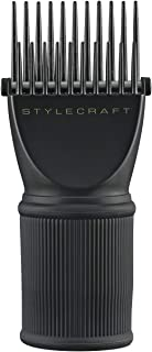 Stylecraft Hair Pik - Straightener & Drying Tip Attachment for 1.55-2 Inch Dryers - Styling Made Easy, Quick Way to Straig...