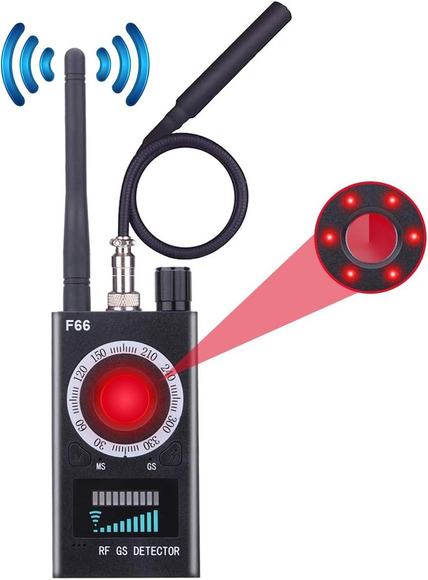 FUVISION RF Signal Detector Upgraded Anti-spy Camera Detector, GSM Listening Device Finder, Laser Lens Detector for Hidden Spy Camera, Wireless Bug Detector&Camera Finder&Radar Radio Scanner