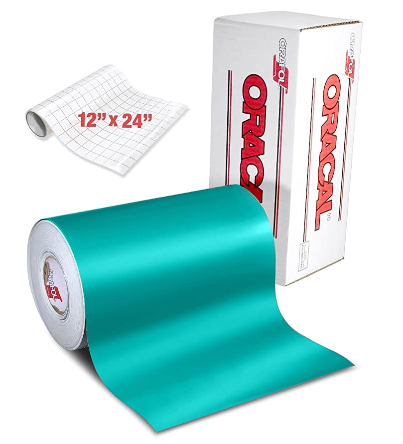 ORACAL 631 Matte Turquoise Adhesive Craft Vinyl 12