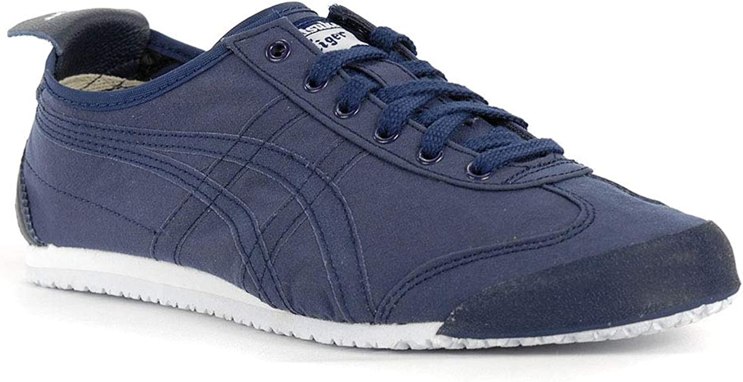 Asics  Mens Onitsuka Tiger Mexico 66 shoes In Black Silver