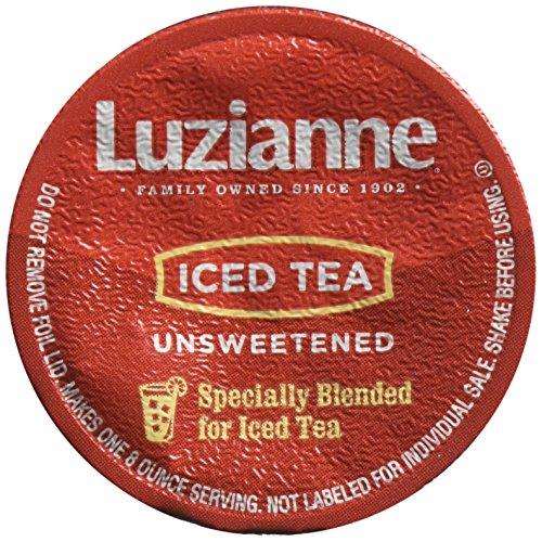 Luzianne Unsweet Iced Tea Keurig K-Cups, 72 Count