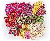 Chupa Chups Kinder Süßigkeiten Mix, 150-teilig, mit Lollis, Kaugummis, Kaubonbons &...