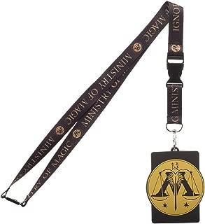 Harry Potter Ministry Of Magic Breakaway Lanyard ID Badge Holder