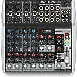 Behringer XENYX QX1202USB mezclador para directo, 12 puertos