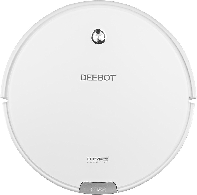 Ecovacs Deebot M82 Robotic Vacuum Cleaner White (Renewed)