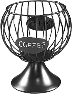 Dolity Vintage Iron Wire Coffee Pod Storage Holder, Espresso Holders, Coffee Pod Stand, Kitchen Countertop Mug Cup Accesso...