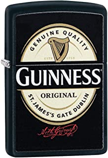 Personalized Zippo Lighter Guinness - Free Engraving # 29755